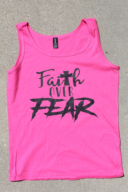 Faith Over Fear Tank