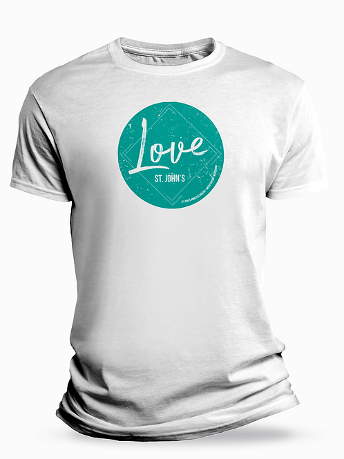 """Love"" St Johns T-Shirt"