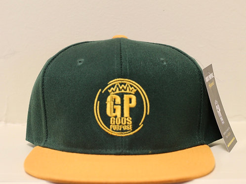 Green & Gold Hat