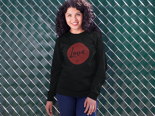 """Love"" St Johns Unisex Long Sleeve"
