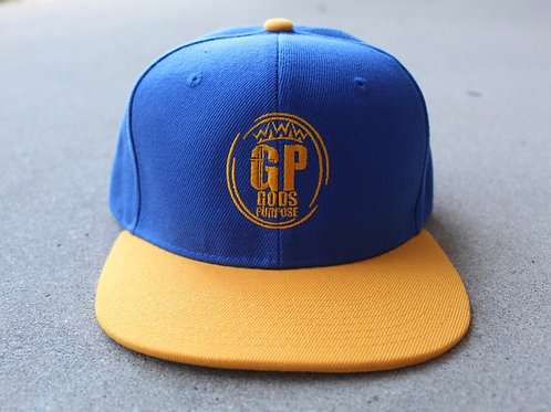 Blue and Yellow SnapBack Hat