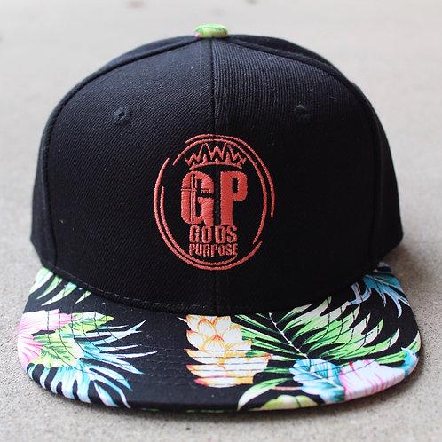 Kids Floral SnapBack Hat