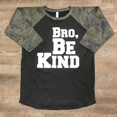 Bro Be Kind Baseball 3/4 Shirt