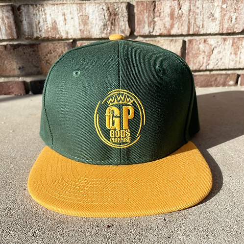 Green and Yellow SnapBack Hat