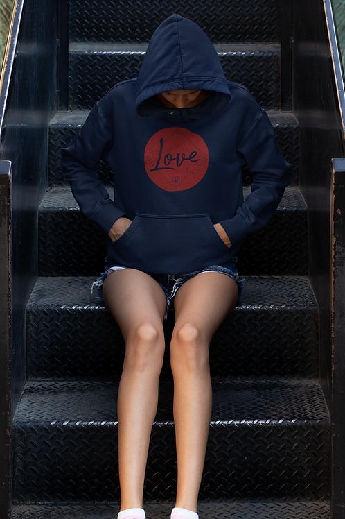 """Love"" St Johns Unisex Hoodie"