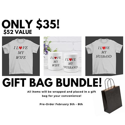 Gift Bag Bundle - I love...