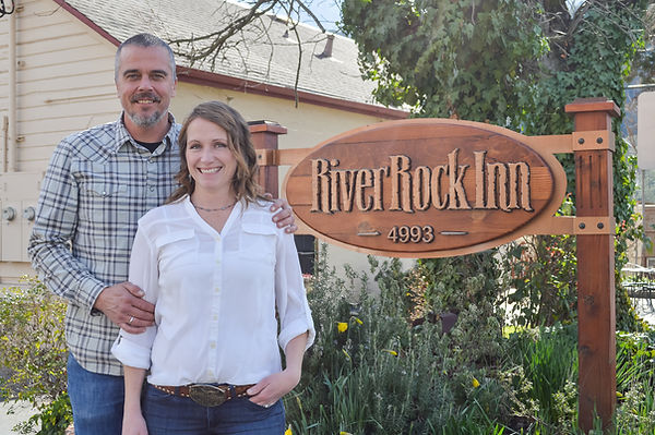 Owners of the River Rock Inn Mariposa, Ca
