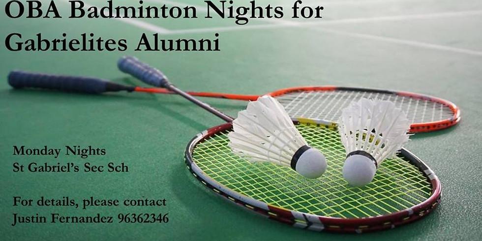 OBA Badminton Nights