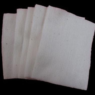 Japanese Organic Cotton - 5 Sheet Pack