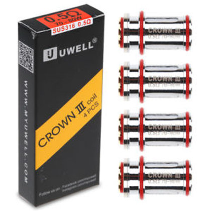 Uwell Crown V3 Stainless 0.5 Ohm Coils