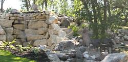 Alternative Landscaping Wall