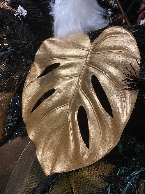 Monstera gold leaf