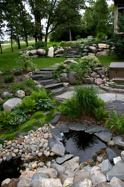 Alternative Landscaping Stairs