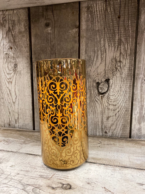 Candle Impressions Gold Flamless Candle