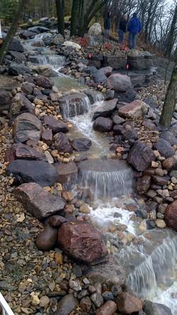 Alternative Landscaping Waterfall