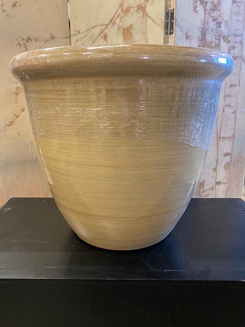 Athena Round Rim Planter