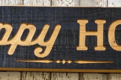 Happy Hour Sign