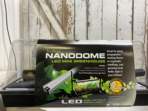 Sun Blaster Nanodome LED Mini Greenhouse
