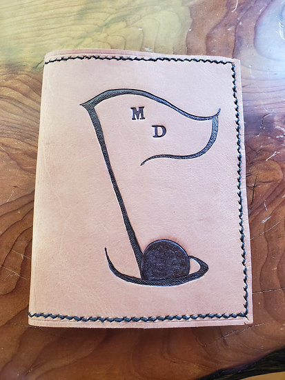 Golf Score & Note Book