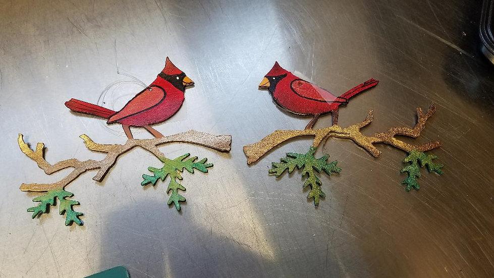 Cardinal Holiday Ornament