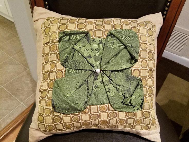 Origami Flower Cushion