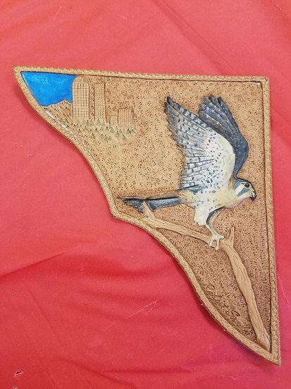 Hawk over Denver