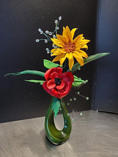 Poppy and Sunflower smiles