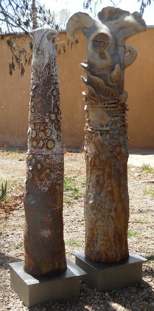 """Compeers"", Mudwasp Sculpture Site"