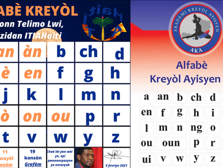 DEBATE ON THE HAITIAN CREOLE ALPHABET