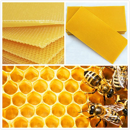 Beeswax Foundation for Langstroth full depth frames