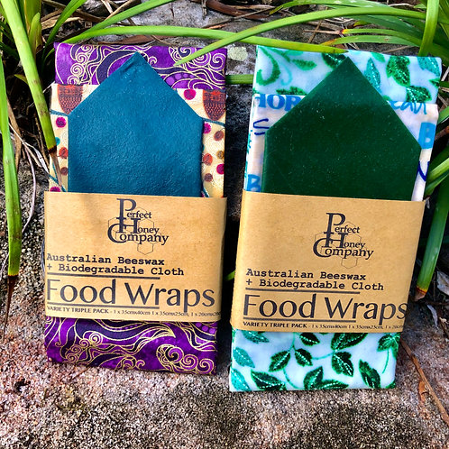 Beeswax Wrap 3 Pack