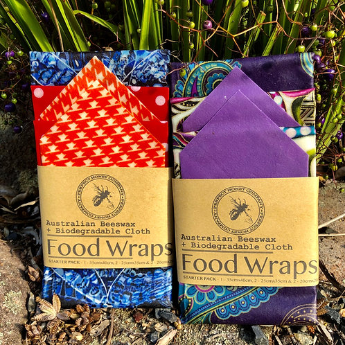 Beeswax Wraps 5 Pack