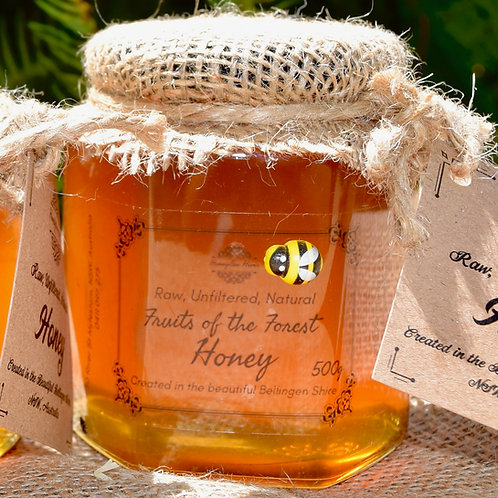 500g Artisan Honey in Glass Jar