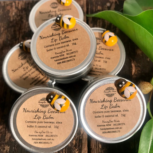 All Natural Beeswax Lip Balms