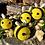 Thumbnail: Crocheted Bee Keychains