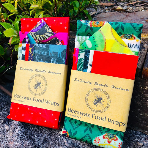 Beeswax Wraps 8 Pack