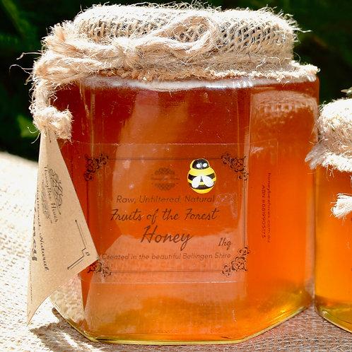1kg Artisan Honey in Glass Jar