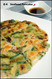 E-4 Seafood Pancake