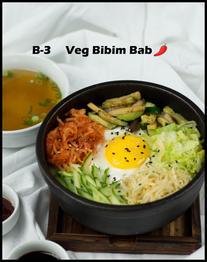 B-3 Veg Bibim Bab