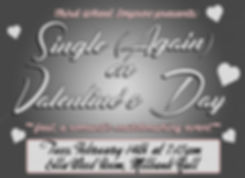 17-2-14 Single Again on Valentine's Day.