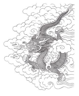 Лунный календарь на месяц Синего Дракона
