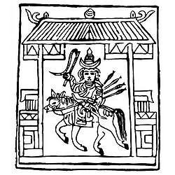 Даин Тээрг, Желтый шаманизм, кыргызский шаманизм