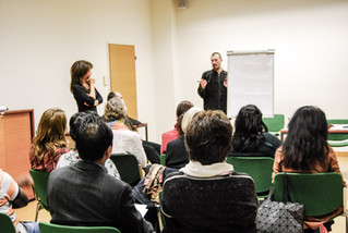 "15 of November lecture of Dr.Ghurba took place in the club ""Body, Mind and Spirit"" of Unit"