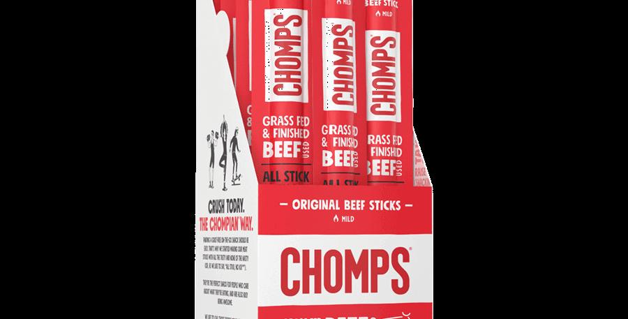 Chomps Original Beef Jerky Sticks - 1.15 oz - 0 Net Carbs