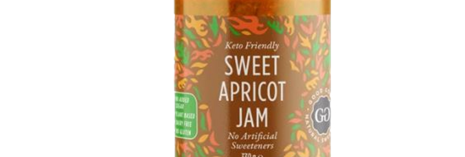 Good Good Sweet Apricot Jam - 12 oz - 0 Net Carbs