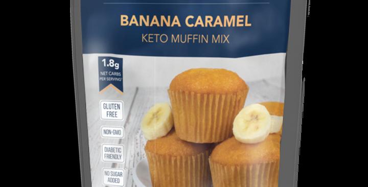 Keto and Co Banana Caramel Muffin Mix - 8.8 oz - 1.8g Net Carbs
