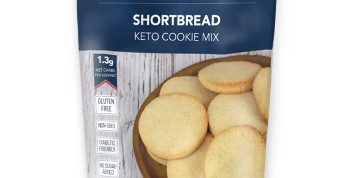 Keto and Co Shortbread Cookie Mix - 8.1 oz - 1.3g Net Carbs