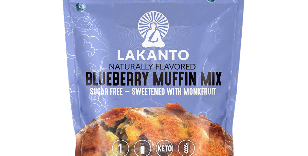 Lakanto Blueberry Muffin Mix - 6.77 oz - 1 Net Carb