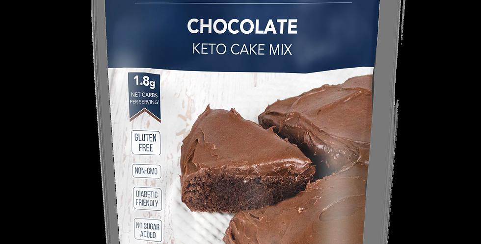 Keto and Co Chocolate Cake Mix - 9.1 oz - 1.8g Net Carbs