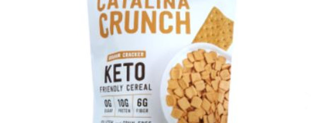 Catalina Crunch Graham Cracker Keto Cereal - 9 oz - 5g Net Carbs